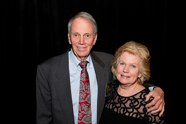 2013 Inductee Jim Toole & wife Molly Toole