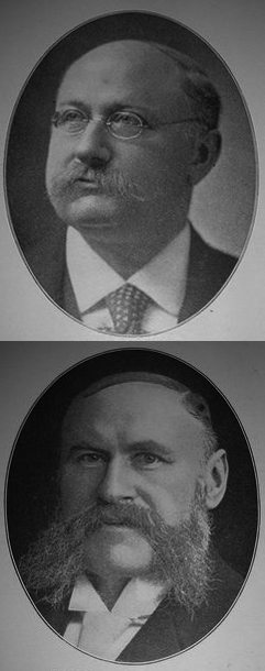 Adolph Lewisohn (top); Leonard Lewisohn (bottom)