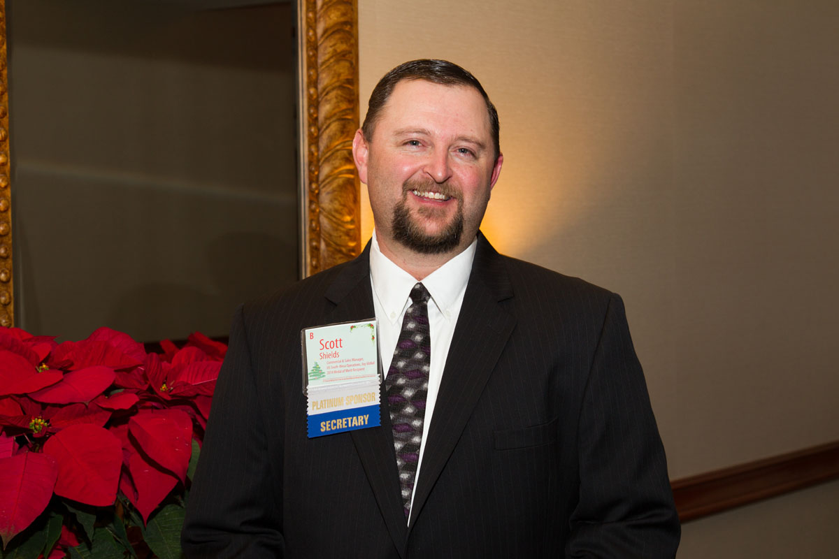 Scott Shields, Medal of Merit under 40 Honoree