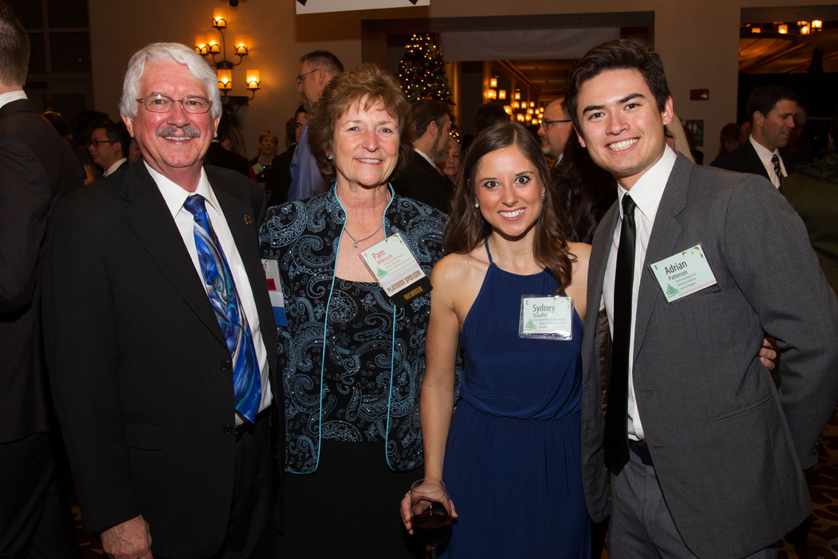 William  and Pam Wilkinson with Sydney Stauffer and Adrian Patterson