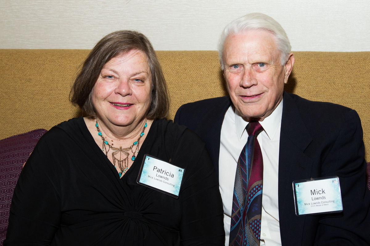 Patricia and Mick Lownds, Medal of Merit Recipient