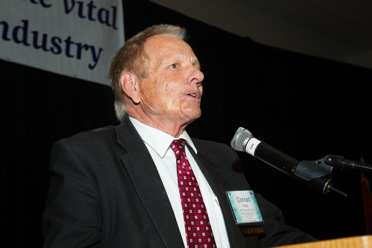 Conard Huss, American Mining Hall of Fame Inductee