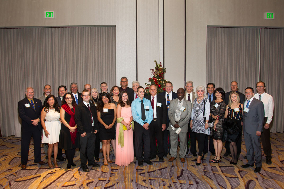 Employees of M3 with American Mining Hall of Fame Inductee Conrad Huss